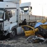 Manisa'da feci kaza! 2 ölü