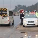 Taşova'da öğrenci servis araçları denetlendi