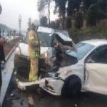 Sarıyer sahil yolunda zincirleme kaza; 4 yaralı