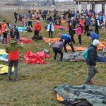 Dağcılar kış eğitimi için Muş'ta kamp kurdu