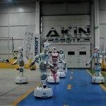"""Yerli insansı robotlar """"oyun havası""""na girdi"""