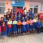 İlkokul öğrencilerden Afrin kahramanlarına destek