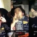 Skandal! Küçük çocuğa viski içirmeye çalıştılar