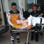 Elinde torpil patlayan asker, yaralandı
