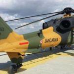 Jandarma ilk T129 ATAK helikopterini teslim aldı