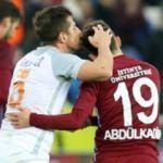 Trabzon'da o anlar! Dikkat çekti...