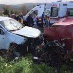 Aydın'da trafik kazası: 1 ölü, 3 yaralı