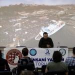 Mavi Marmara Baskını tanığı Bursa'da söyleşiye katıldı