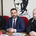 AGD üyeleri gazetecileri derneklerinde ziyaret etti