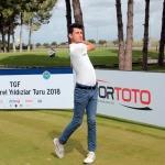 Golf: 2018 TGF Yerel Yıldızlar Turu