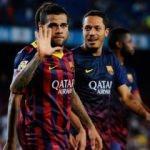 Dani Alves'ten Beşiktaş formalı Adriano paylaşım!