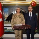Jandarma Genel Komutanı Çetin'den Adana Valisi Demirtaş'a ziyaret