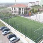 Beyşehir'de semt sahası çalışmaları