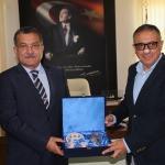 Antalya Emniyet Müdürü Uzunkaya'dan veda ziyareti
