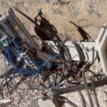 Şanlıurfa'da elektrik panolarını parçaladılar