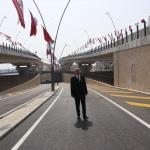 Denizli Üçgen Köprülü Kavşağı ulaşıma açıldı