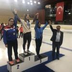 Türkiye Kısa Kulvar Sürat Pateni Şampiyonası sona erdi