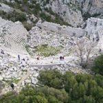İskender'in alamadığı Termessos büyülüyor!