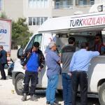 Türk Kızılayından depremzedelere sıcak çorba