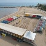 Kızkalesi, Plaj Voleybolu Dünya Turu'na hazır