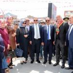 Erciş'te kadına şiddete karşı sergi