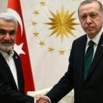 Erdoğan, HÜDA PAR Genel Başkanı'nı kabul etti