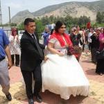 Hem düğünlerini hem Hıdırellez'i kutladılar