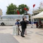 """""""Şehrim 2023"""" otobüsü Denizli'de"""