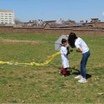 Bitlis'te otizmli çocuklar için uçurtma etkinliği