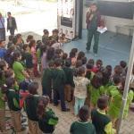 Kale'deki okullara keneden korunma eğitimi