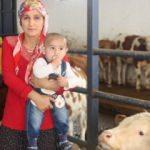 Çiftlik kuran 6 çocuk annesinin başarı hikayesi