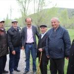 Zara Ziraat Odası Başkanı Şimşek'in köy gezileri
