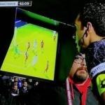 Türkiye'de bir ilk! VAR ile penaltı