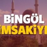 Bingöl imsakiye sahur ve iftar vakti! Sabah ve Akşam ezanı saati... 2018