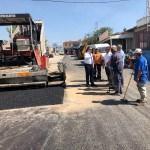 Merzifon Belediyesinin asfalt çalışmaları