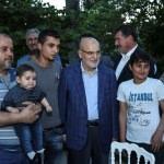 Beykoz Belediyesi, gönül sofrasında sığınmacıları ağırladı
