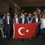 AK Parti'li gençler TBMM'ye yürüdü