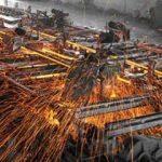 Ham çelik üretimi nisanda azaldı