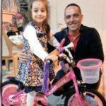 4 yaşındaki Kübra'yı sevindiren kaza!
