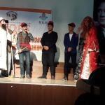 Güroymak'ta lise öğrencileri tiyatro sahneledi