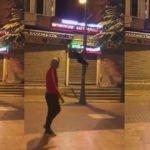 AK Parti bayrağını kesmek istedi ama...
