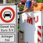 Almanya resmen dizel yasağını uygulamaya başladı!