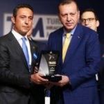 Recep Tayyip Erdoğan'a divan rozeti