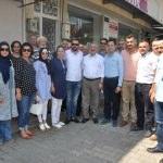 Milletvekili adayı Necip Nasır'ın Tire ziyareti