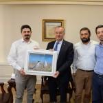 Biyoçeşitlilik Çalışmaları Derneği Vali Özdemir'i ziyaret etti
