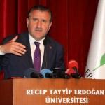 Recep Tayyip Erdoğan Üniversitesi mezuniyet töreni
