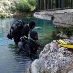 AFAD dalgıçlarından Gökpınar Gölü'nde gönüllü temizlik