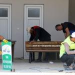 Büyükşehir Belediyesi kent mobilyaları üretiyor