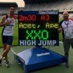 Yüksek atlamada 16 yıllık rekor kırıldı
