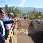 İl Özel İdare Sekreteri Kaya köylerde incelemelerde bulundu